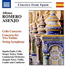 Alfonso Romero Asenjo: Works for Strings